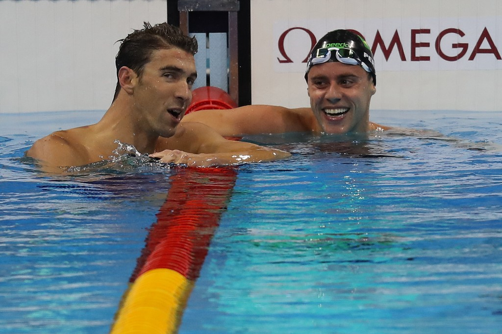 Michael Phelps e Thiago Pereira estão na final - Foto: Vitor Silva/SSPress