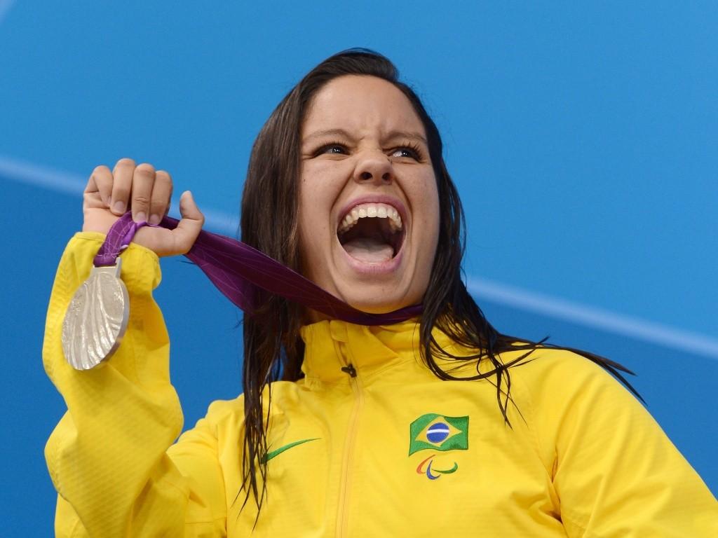 Edenia Garcia é vice-campeã paralímpica – Foto: UOL Esportes