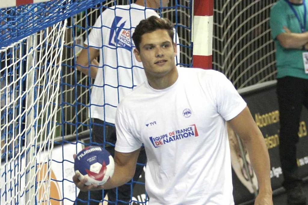 Manaudou é apaixonado por handball - Foto: Reprodução