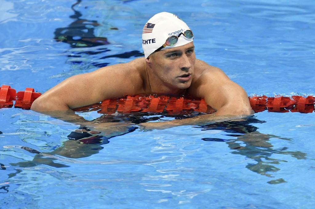 Ryan Lochte foi punido pela confusão no Rio - Foto: Associated Press