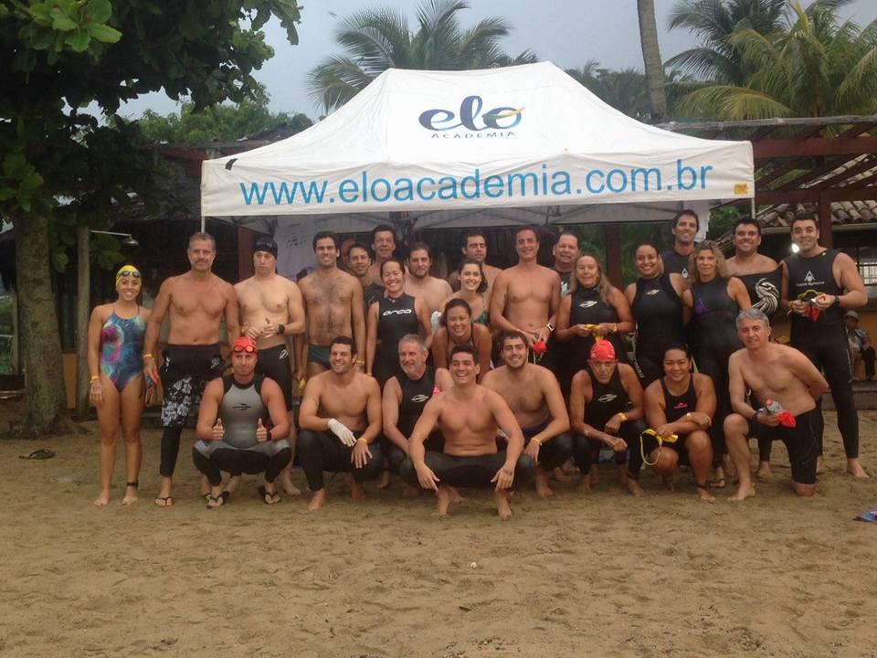 A equipe da ELO Academia, time dos campeões da travessia - Foto: Reprodução