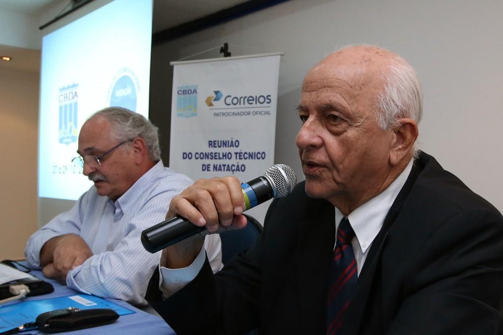 Coaracy Nunes e Ricardo de Moura estão de volta a CBDA - Foto: Satiro Sodre/SSPress.
