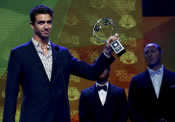 Anthony Ervin um dos premiados da noite – Foto: Jeff Zelevansky/Getty Images
