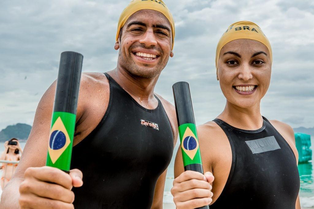 Allan e Poliana serão uma das duplas do Brasil - Foto: Reprodução