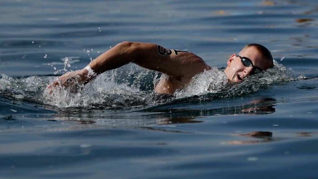 O campeão olímpico Ferry Weertman – Foto: Gregory Bull