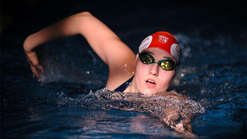 Tamila Holub ganhou duas medalhas no Europeu Júnior – Foto: Reprodução