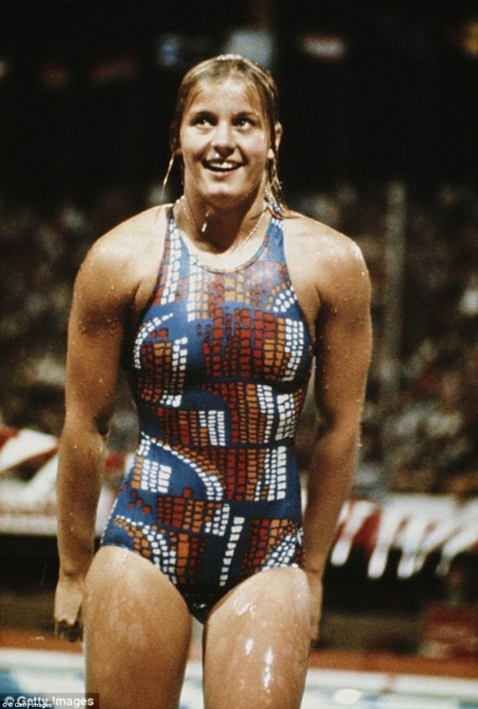 A nadadora alemã Kornelia Enders – Foto: Getty Images