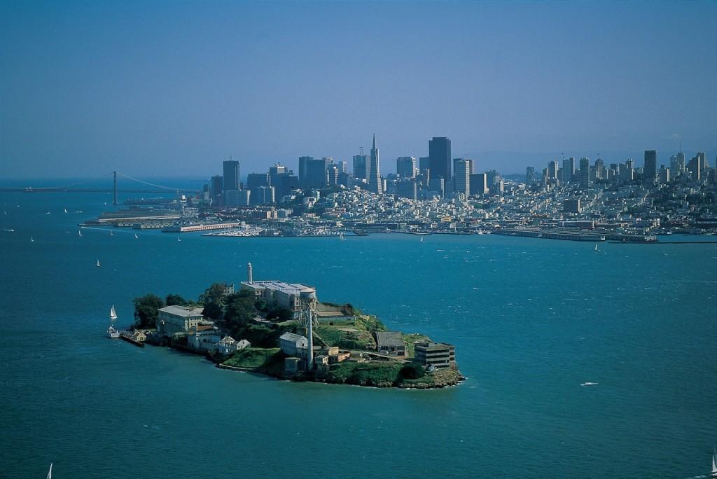 Vista da Ilha de Alcatraz - Foto: Reprodução/Internet