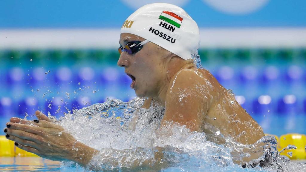 Katinka Hosszu nadará o EuroMeet e a Flanders Cup – Foto: AP Photo
