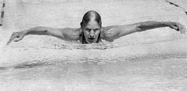 Maria Lenk ganhou cinco medalhas no primeiro Mundial Master - Foto: Reprodução