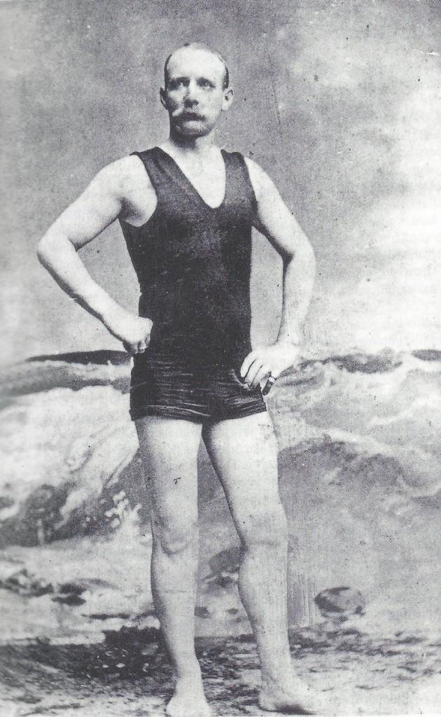 O capitão Matthew Webb – Foto: Reprodução