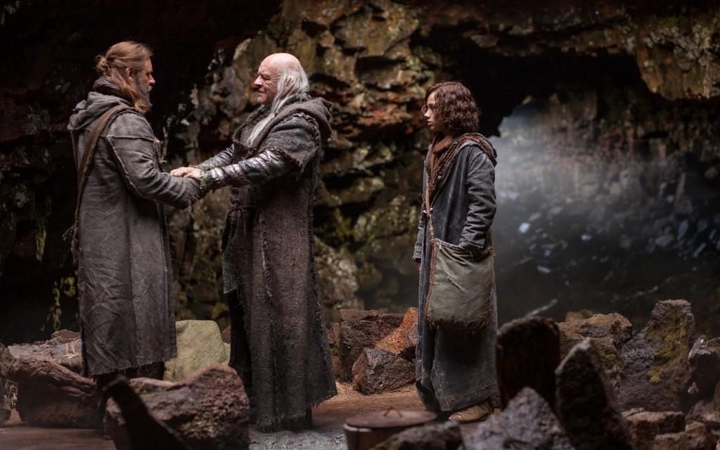 Noé encontra seu avô, Matusalém, antes de suas visões do fim do mundo