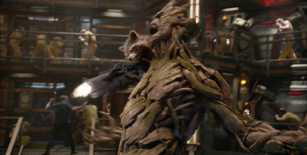 Rocket e Groot mostram como se faz!