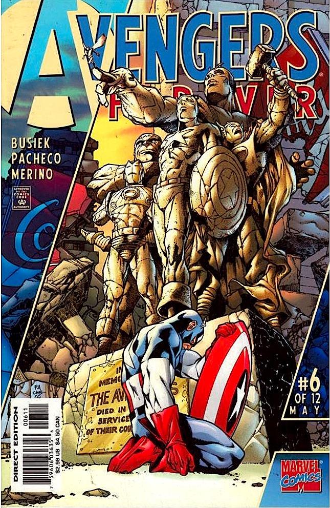 Avengers Forever cover
