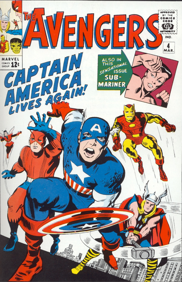 Captain America Joins the Avengers cover