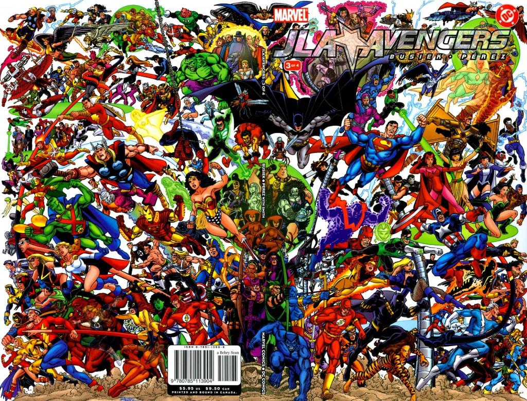 JLA Avengers cover