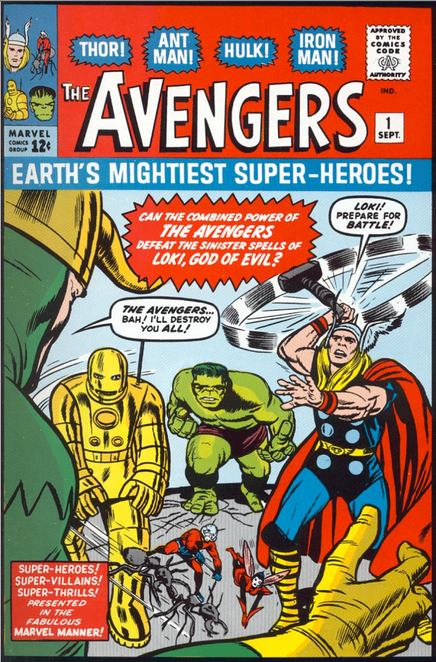 The Coming of the Avengers cover
