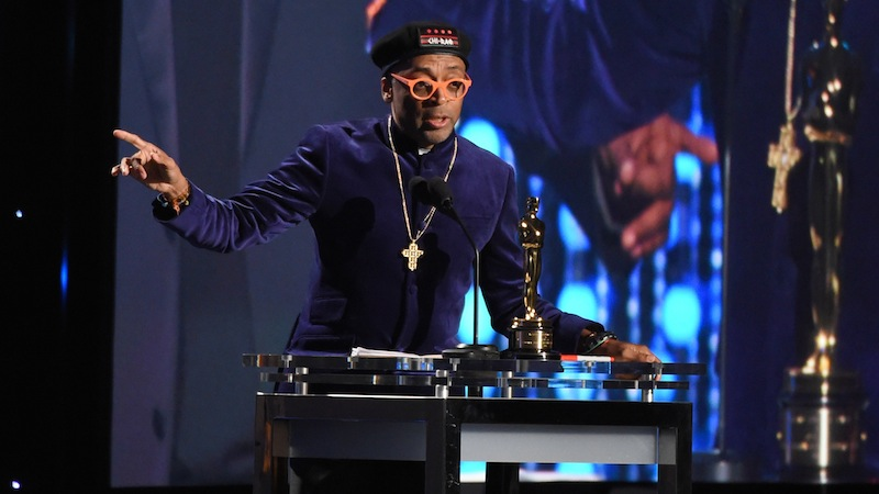 Mandatory Credit: Photo by Buckner/Variety/REX/Shutterstock (5367977cw) Spike Lee receives Honorary Award from The Board of Governors of the Academy of Motion Picture Arts and Sciences 7th Annual AMPAS Governors Awards, Show, Los Angeles, America - 14 Nov 2015