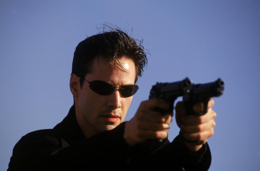 THE MATRIX, Keanu Reeves, 1999. (c) Warner Bros..