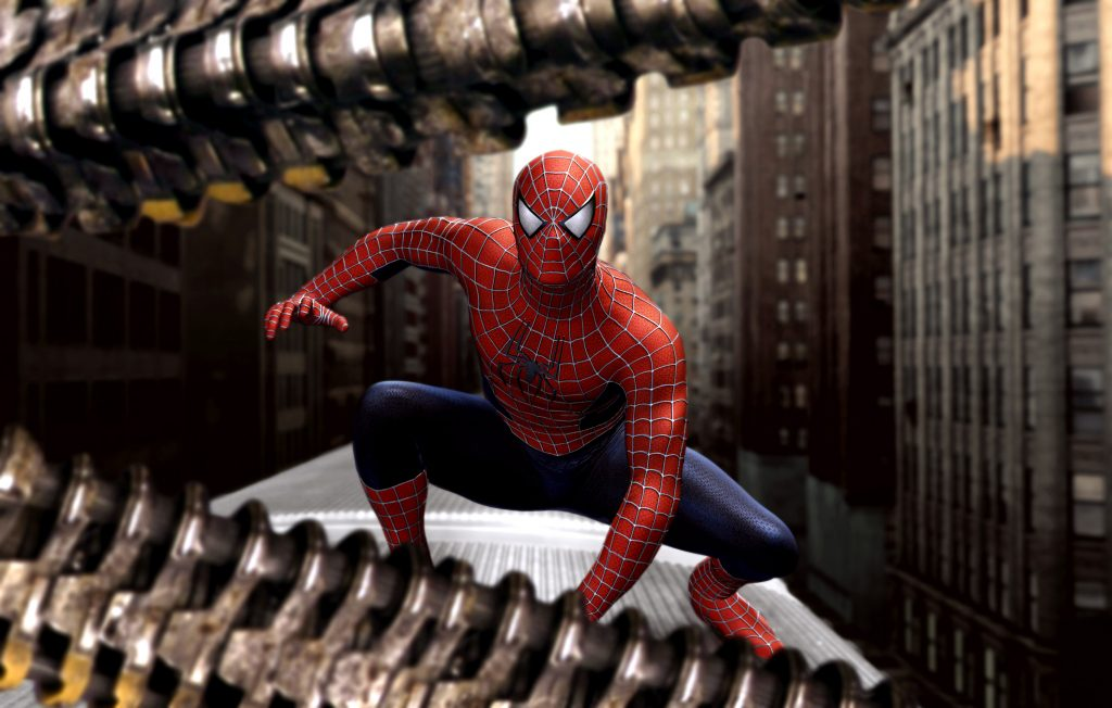PHOTO: EAST NEWS/EVERETT COLLECTION<br /> SPIDER-MAN 2, Tobey Maguire, 2004