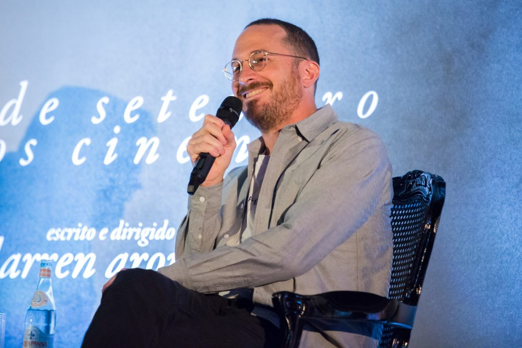 "SAO PAULO, BRASIL – SEPTEMBER 19: Director Darren Aronofsky attends the ""mother!"" photo call and.press conference at Cinemark Eldorado on September 19, 2017 in Sao Paulo, Brazil..(Mauricio Santana/Getty Images for Paramount Pictures)"