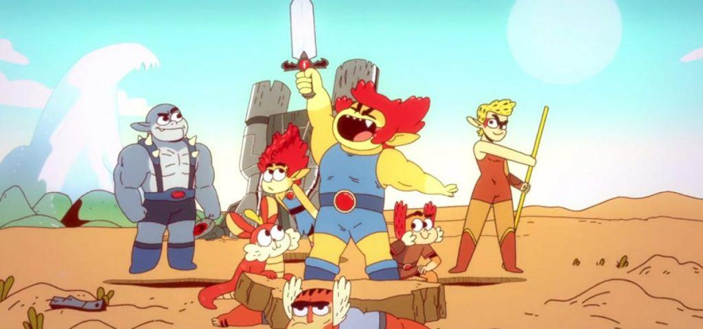 ThunderCats era uma animação infantil dos anos 80. A trama era simples   após a destruição de seu mundo 333a73e4ff7