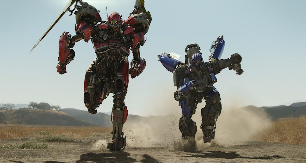 Left to right: Shatter and Dropkick in BUMBLEBEE from Paramount Pictures.