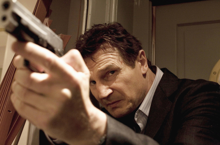In TAKEN, Liam Neeson stars as Bryan Mills, an ex-government operative who has less than four days to find his kidnapped daughter Ð who has been taken on her first day of vacation in Paris.