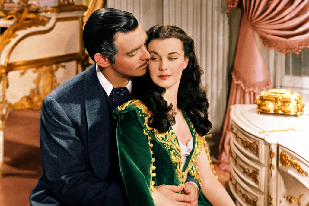 GONE WITH THE WIND (1939) Clark Gable, Vivien Leigh