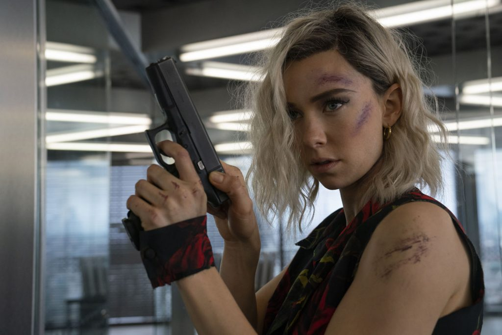 Vanessa Kirby as Hattie Shaw in Fast & Furious Presents: Hobbs & Shaw, directed by David Leitch.