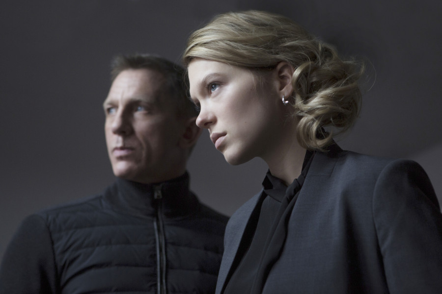 Editorial use only. No book cover usage. Mandatory Credit: Photo by Columbia/Eon/Danjaq/Mgm/Kobal/REX/Shutterstock (5886264bp) Daniel Craig, Lea Seydoux Spectre - 2015 Director: Sam Mendes Columbia/EON/Danjaq/MGM UK Scene Still Action/Adventure