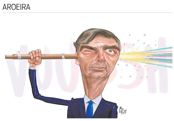 Aroeira dá ideia a Bolsonaro - Notícias - UOL Notícias