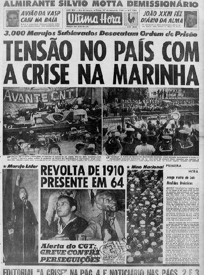 """""""Última Hora"""", 27.março.1964"""