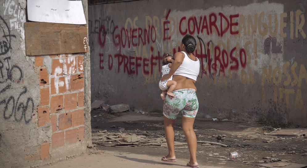 Pichação na favela Metrô-Mangueira - Foto Luiz Baltar/Divulgação Mórula