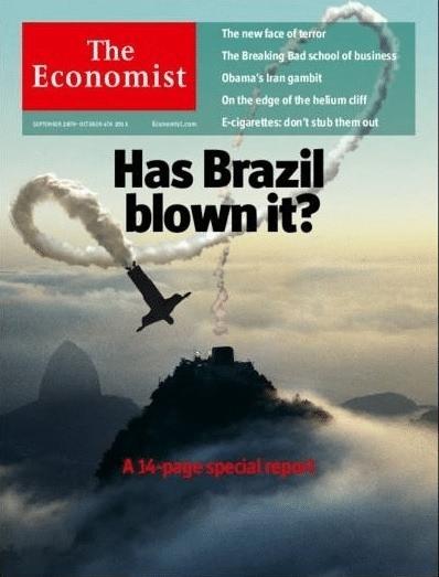 """Capa da revista """"The Economist"""", setembro de 2013"""