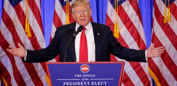 Donald Trump, presidente eleito dos Estados Unidos - Foto Seth Wenig/AP
