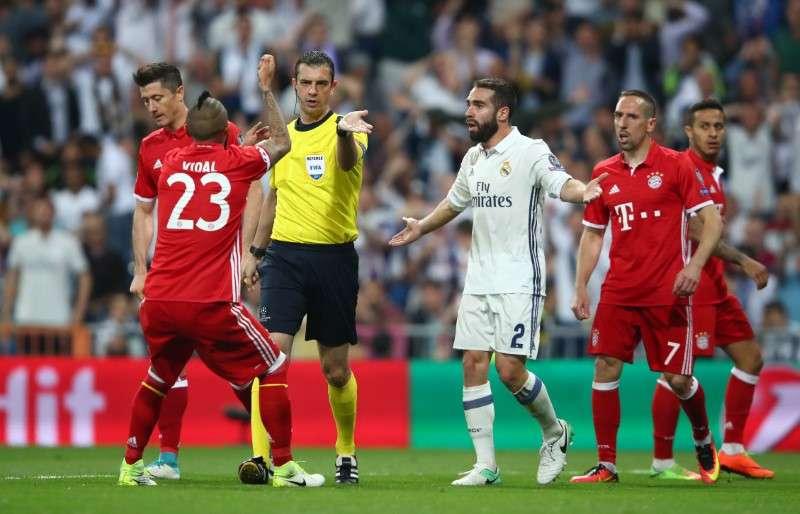 Árbitro define classificação do Real Madrid sobre o Bayern - Esporte ... 1a22de8036f0a