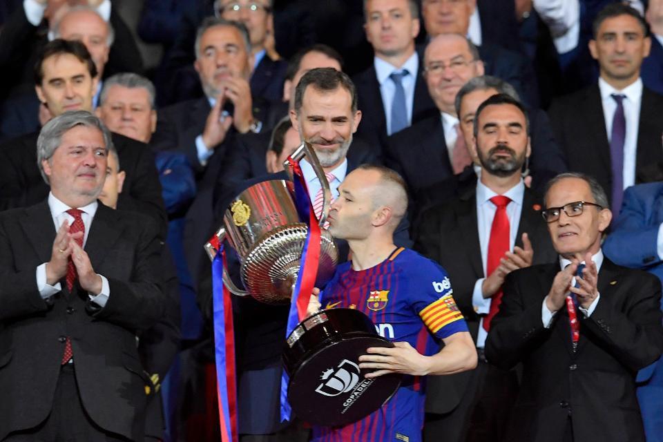 A imagem dos 5 a 0 sobre o Sevilla 7e8fb908e082a