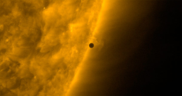"Mercúrio ""toca"" a borda por fora e acabou o trânsito! (AIA171)"