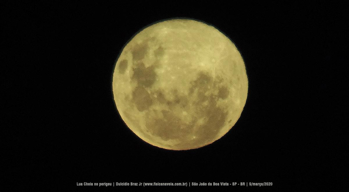 """- Superlua 9mar2020 04 - Imagens do nascer da """"Superlua"""" por trás da serra"""
