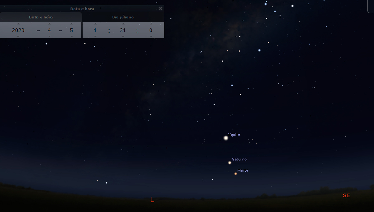 Are you quarantined? Take the opportunity to see the night sky!
