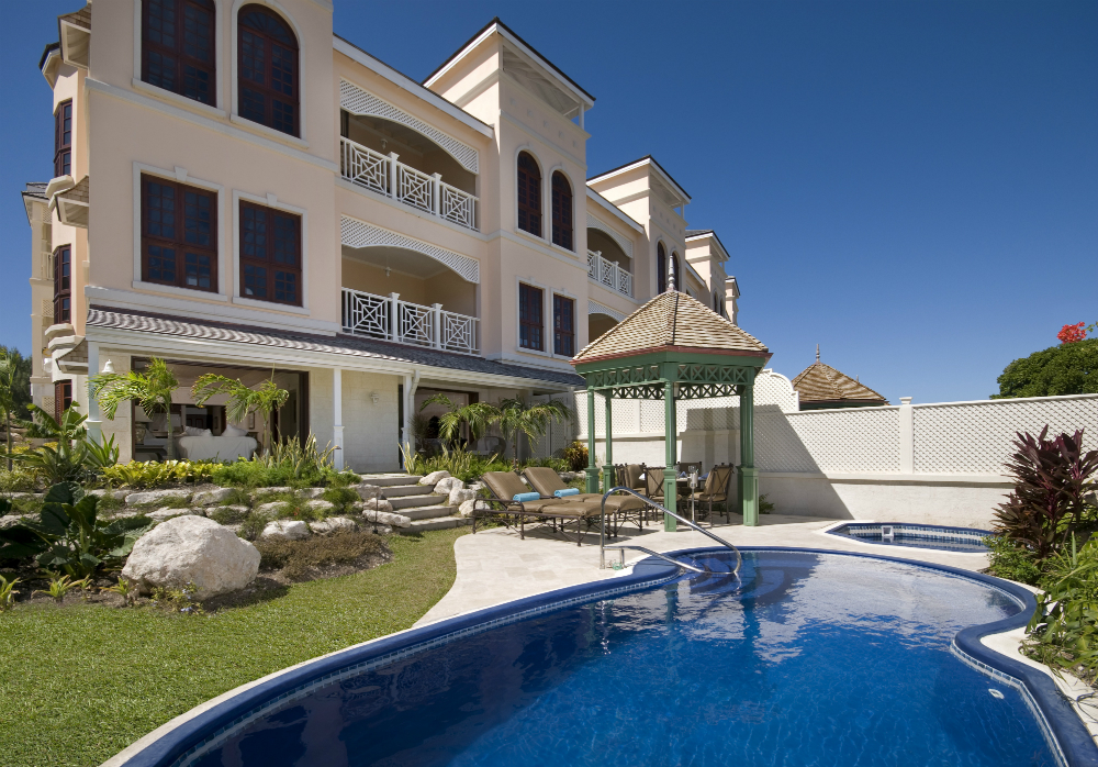 Two Bedroom Garden Pool