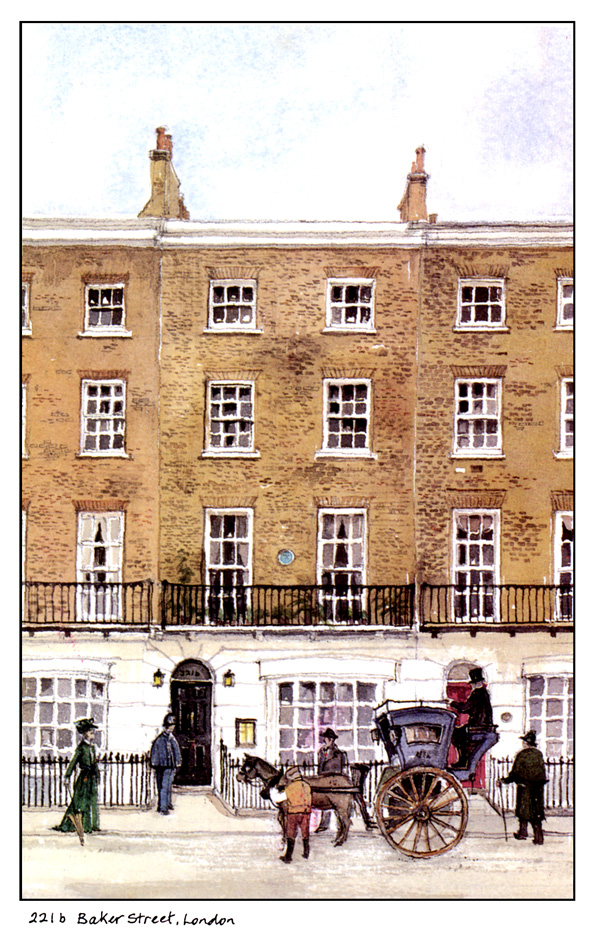 Vamos conhecer a casa de sherlock holmes em londres - Casa de sherlock holmes ...