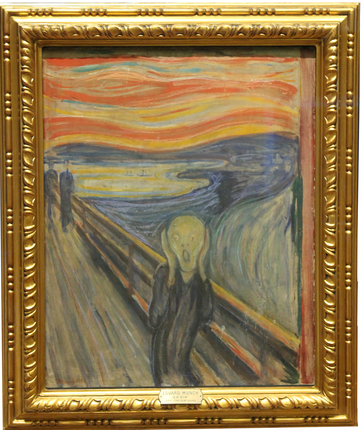 """""""O Grito"""", de Edvard Munch, no National Museum – Foto: Mariana Sampaio"""