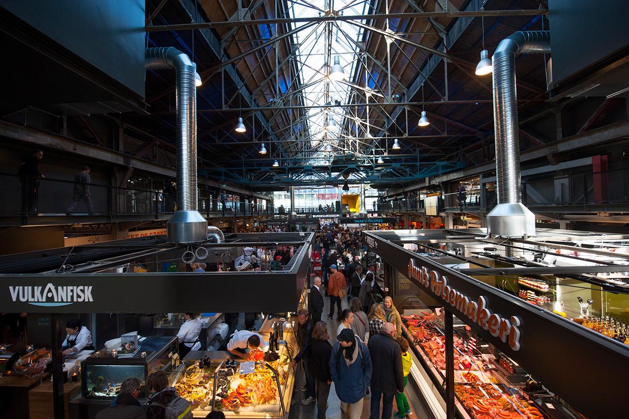 Mathallen Food Hall – Foto: VISITOSLO/Finn Ståle Felberg
