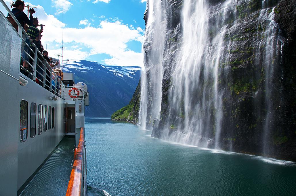 Viagem de barco – Foto: Innovation Norway