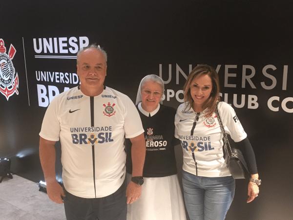 Universidade Brasil lança projeto no Corinthians
