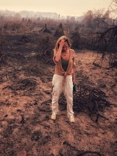 Luisa Mell no Pantanal - Reprodução/Instagram
