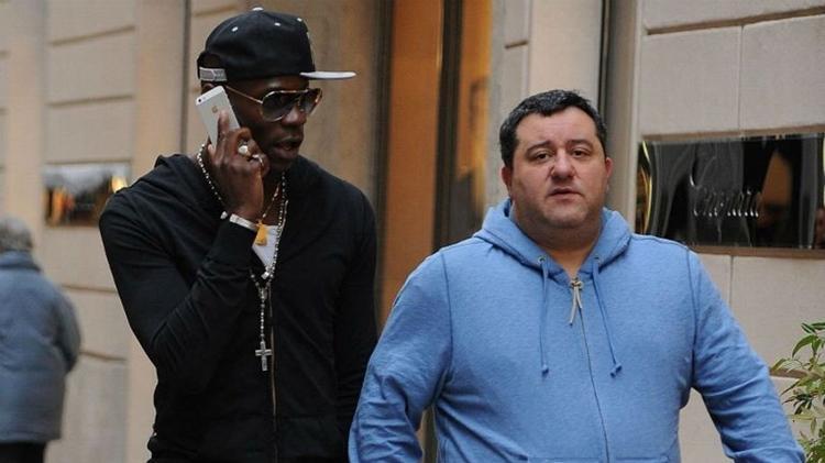 Mino Raiola é agente de nomes como Balotelli, Pogba e Ibrahimovic - false