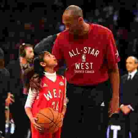 Kobe e Gianna -